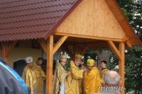 Vysvěcení kaple Obora 2012